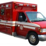 Fire Rescue Paramedic Red Emergency Vehicle